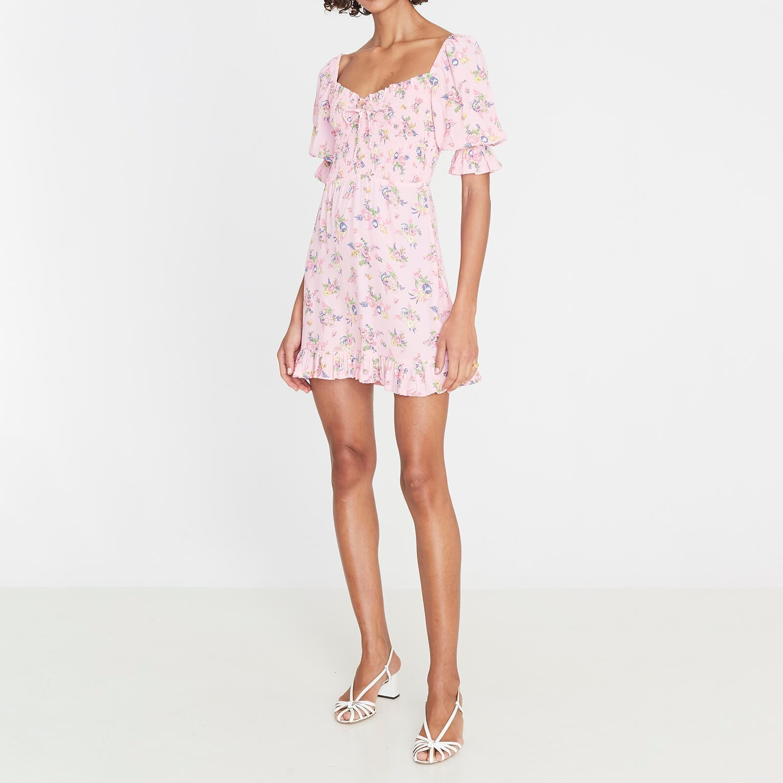 FAITHFULL THE BRAND Women's Sage Mini Dress