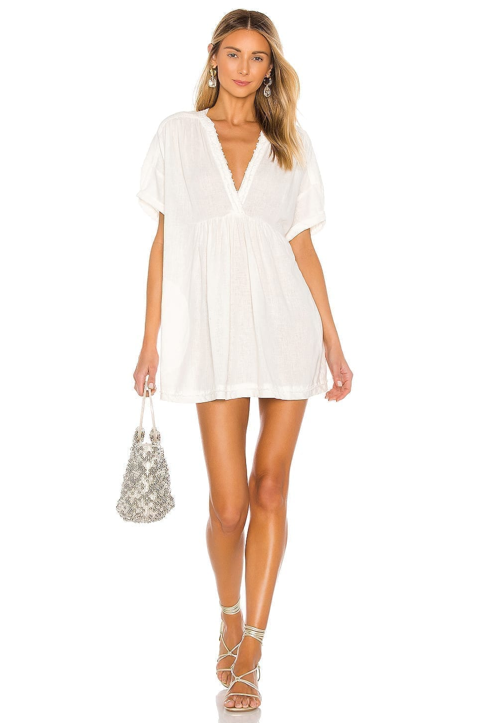 FREE PEOPLE Getaway With Me Tunic Dress
