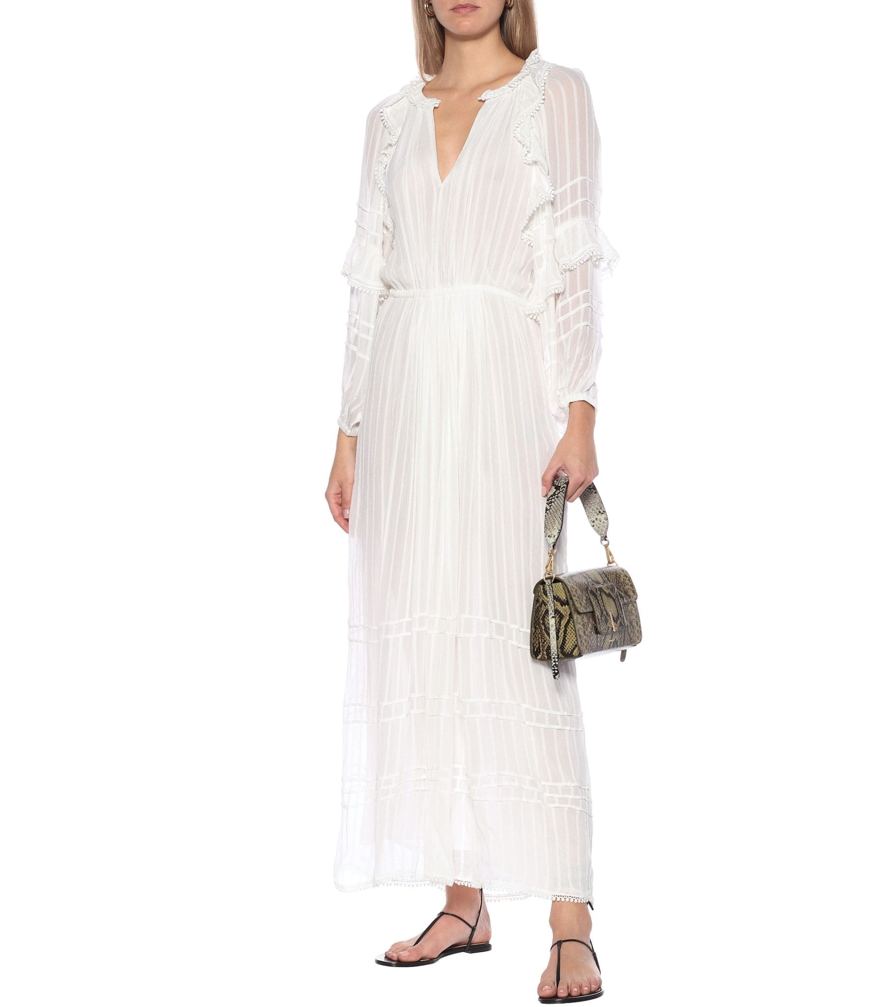 ISABEL MARANT, ÉTOILE Justine Ruffled Maxi Dress