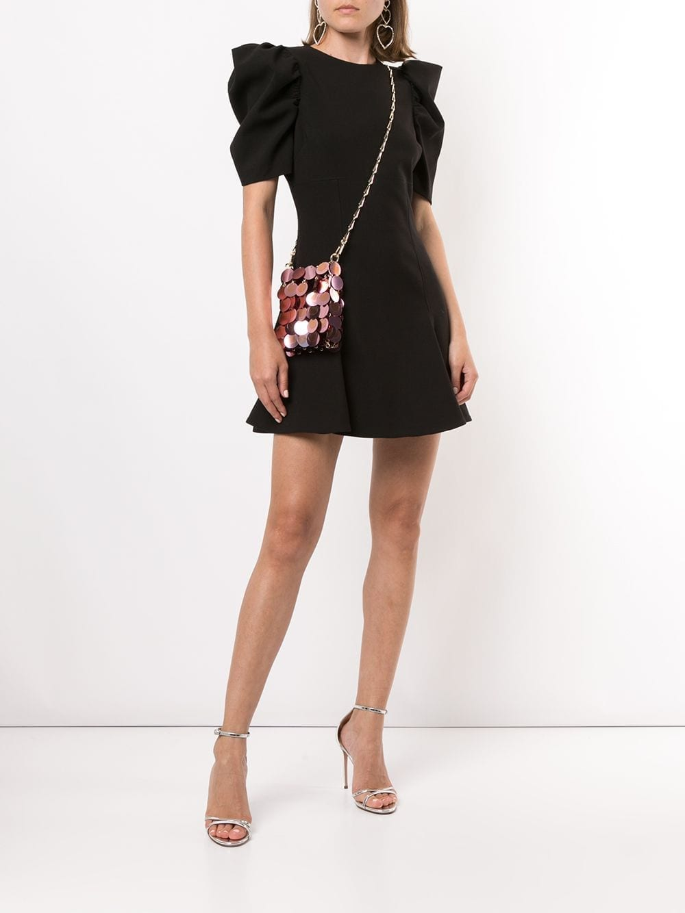 LIKELY Puff Sleeve Mini Dress