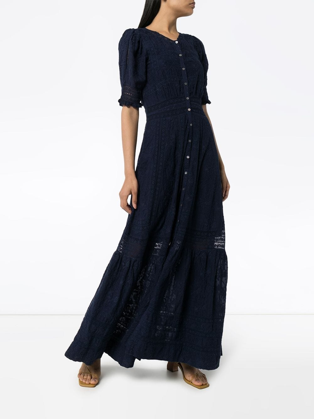 LOVESHACKFANCY Minka Maxi Dress