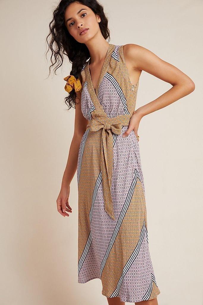 MAEVE Carla Wrap Dress