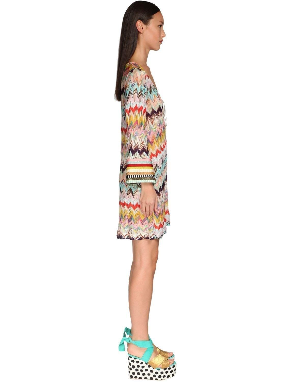 MISSONI Stretch Viscose Knit Dress