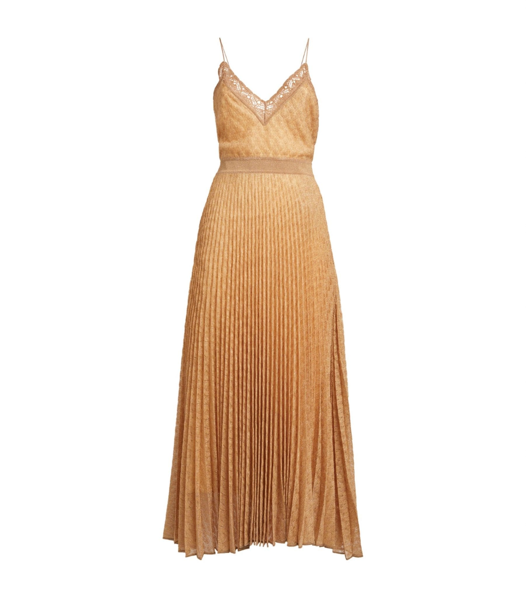 MISSONI V-Neck Midi Dress