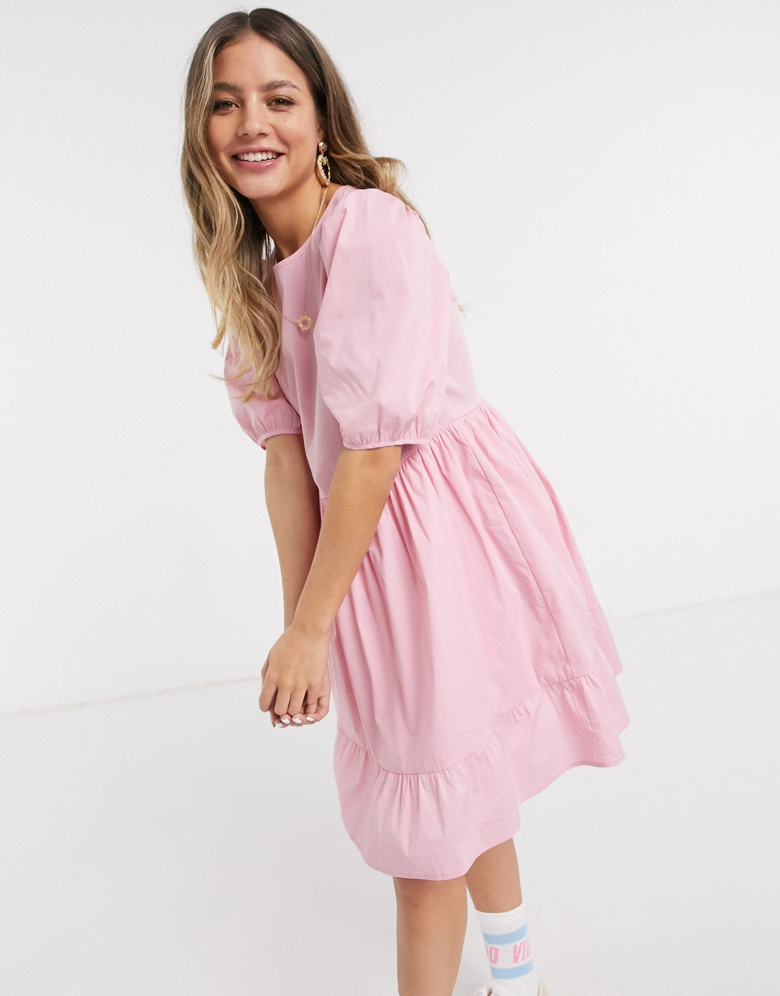 NEW LOOK Mini Poplin Smock Dress
