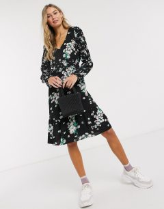 OASIS Dandelion Patchwork Skater Dress