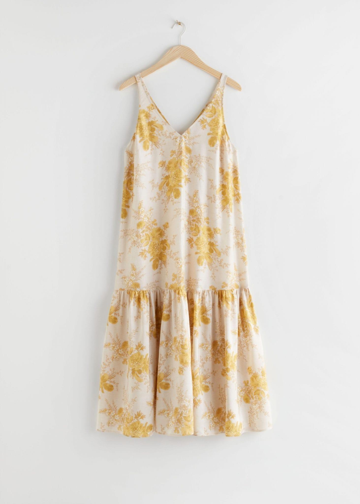 OTHER STORIES Voluminous Silk Maxi Dress