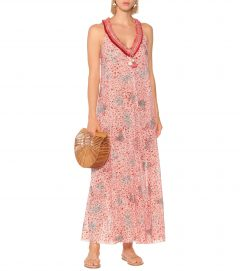 POUPETTE ST BARTH Nava Printed Cotton Maxi Dress