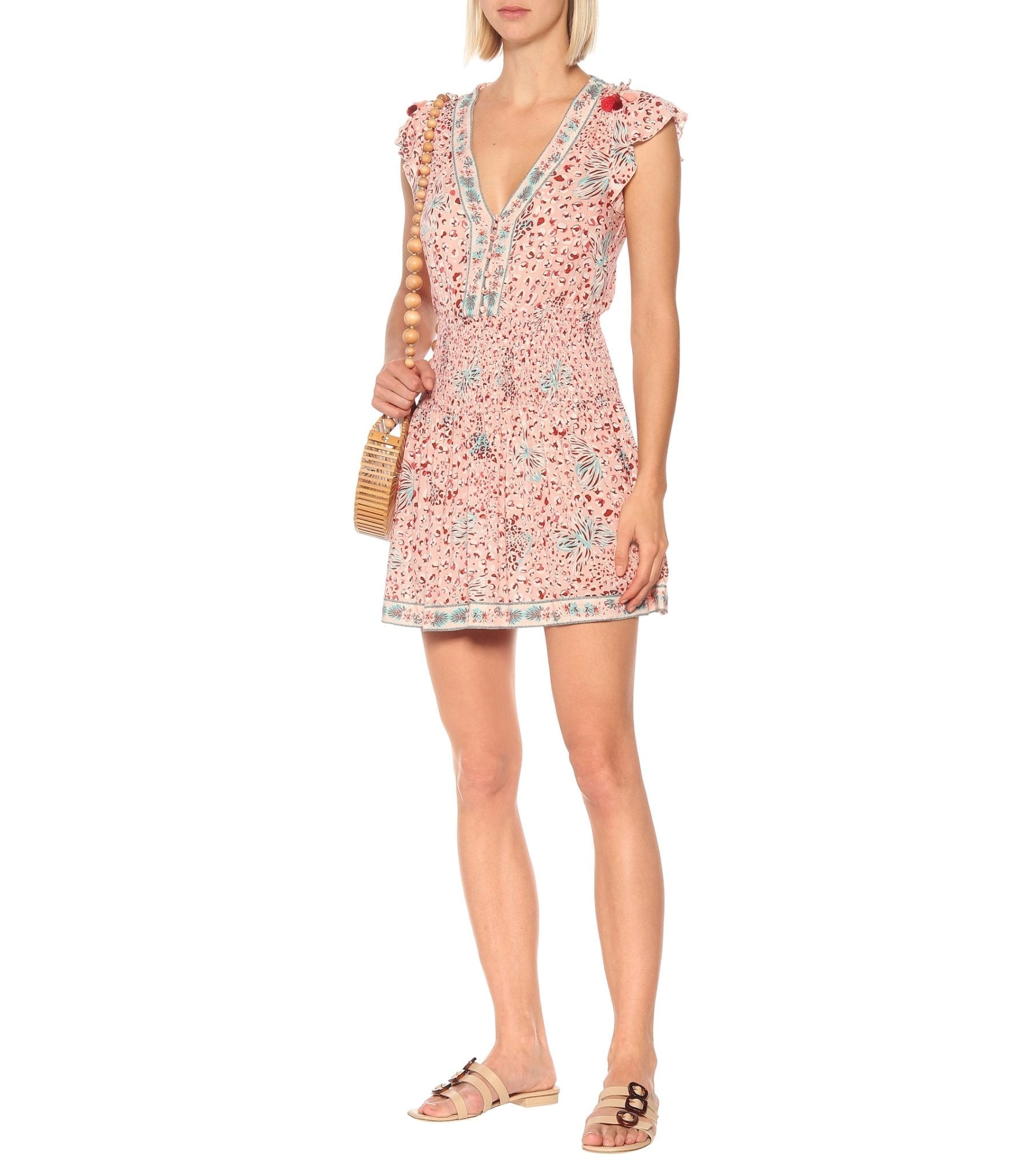 POUPETTE ST BARTH Rachel Printed Mini Dress
