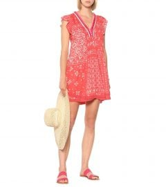 POUPETTE ST BARTH Sasha Printed Mini Dress