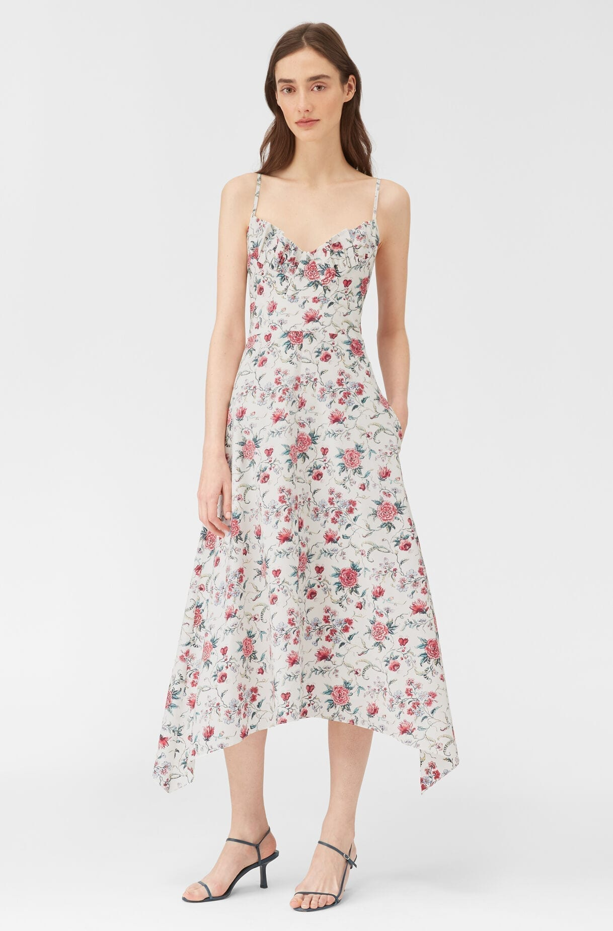 REBECCA TAYLOR Esmee Fleur Tank Dress