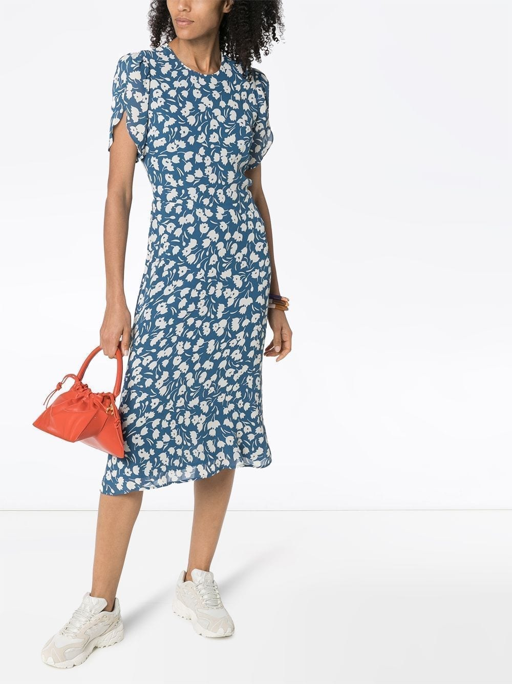 REFORMATION Andre Floral-print Midi Dress