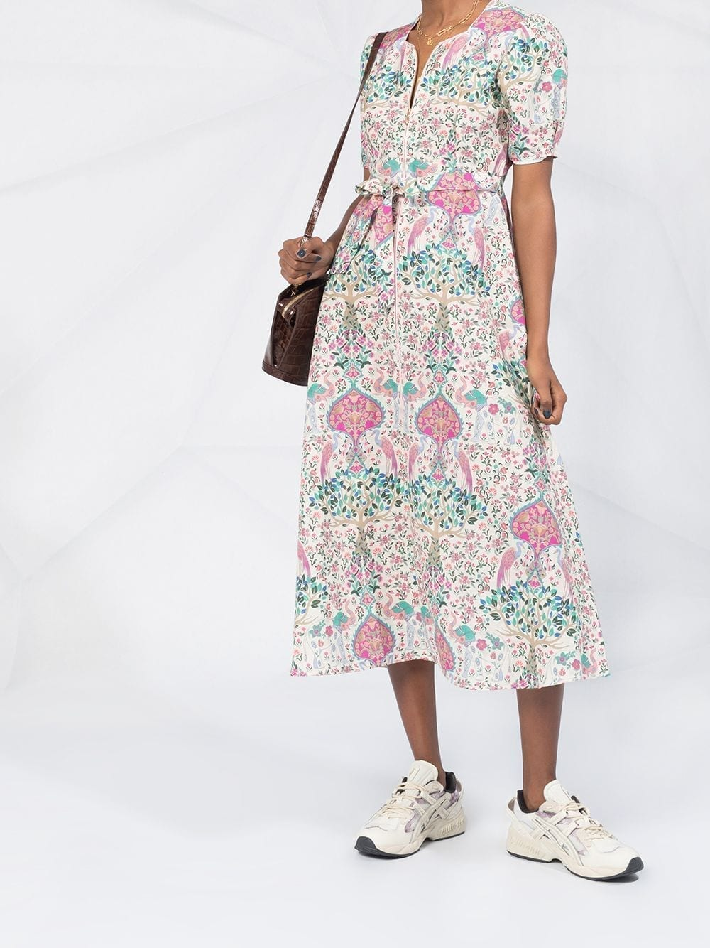 SANDRO PARIS Irya Floral Print Dress
