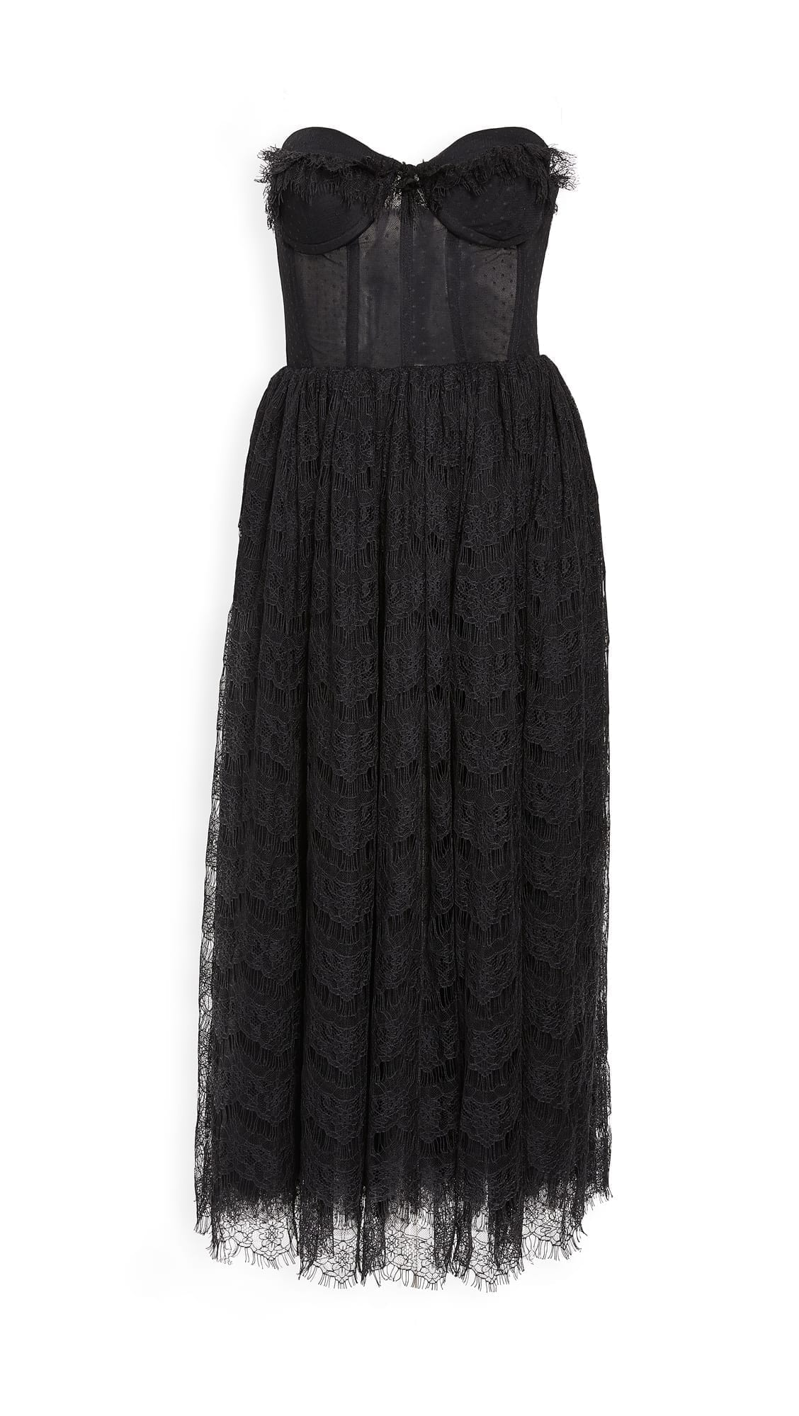 SILVIA ASTORE Irina Pleated Dress