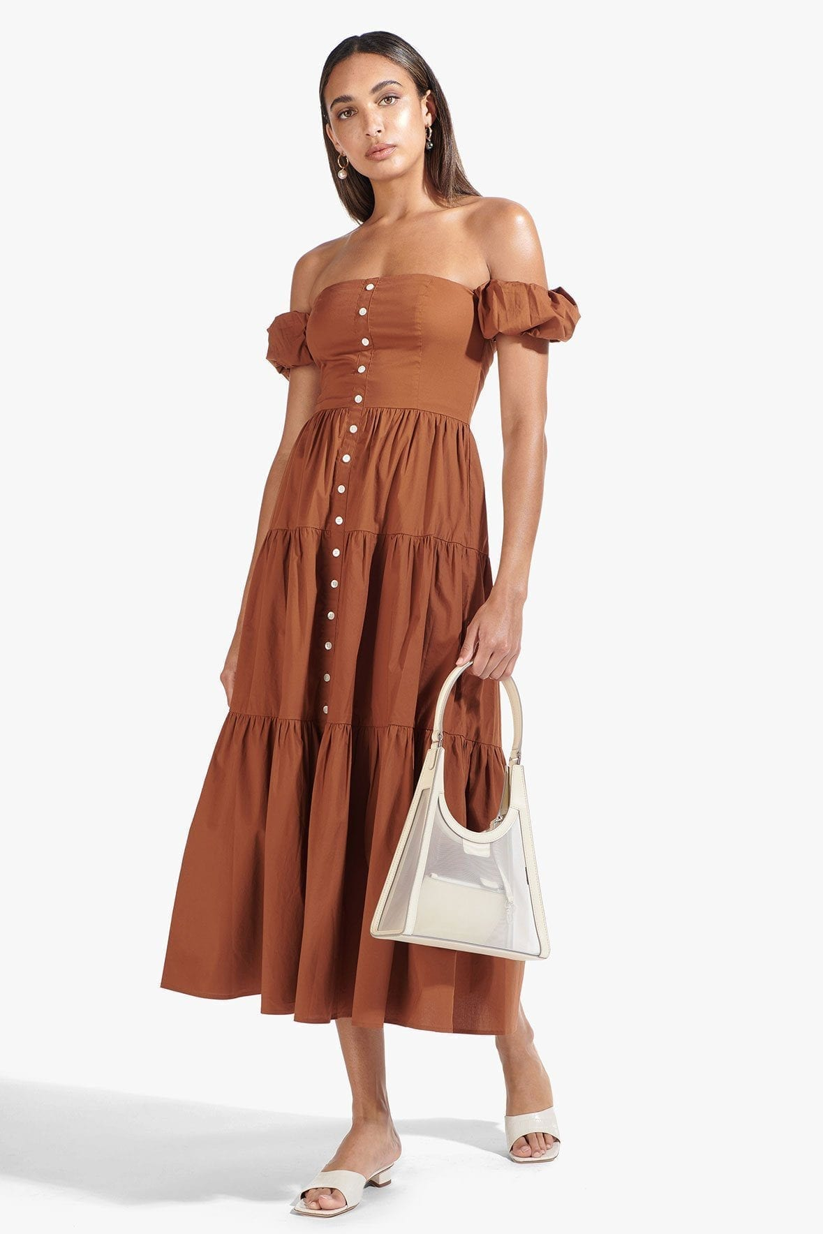 STAUD Elio Dress