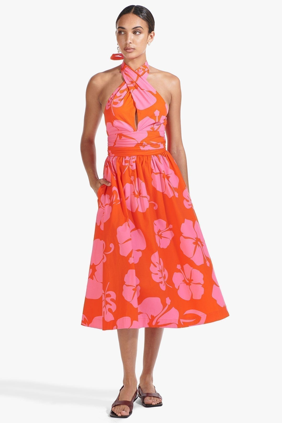 STAUD Moana Dress