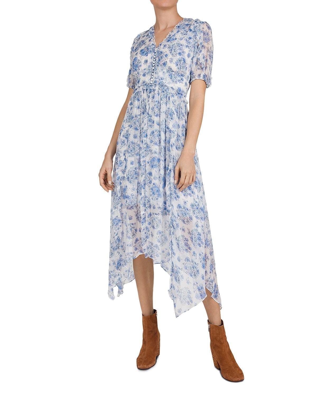 THE KOOPLES Empire-Waist Midi Dress
