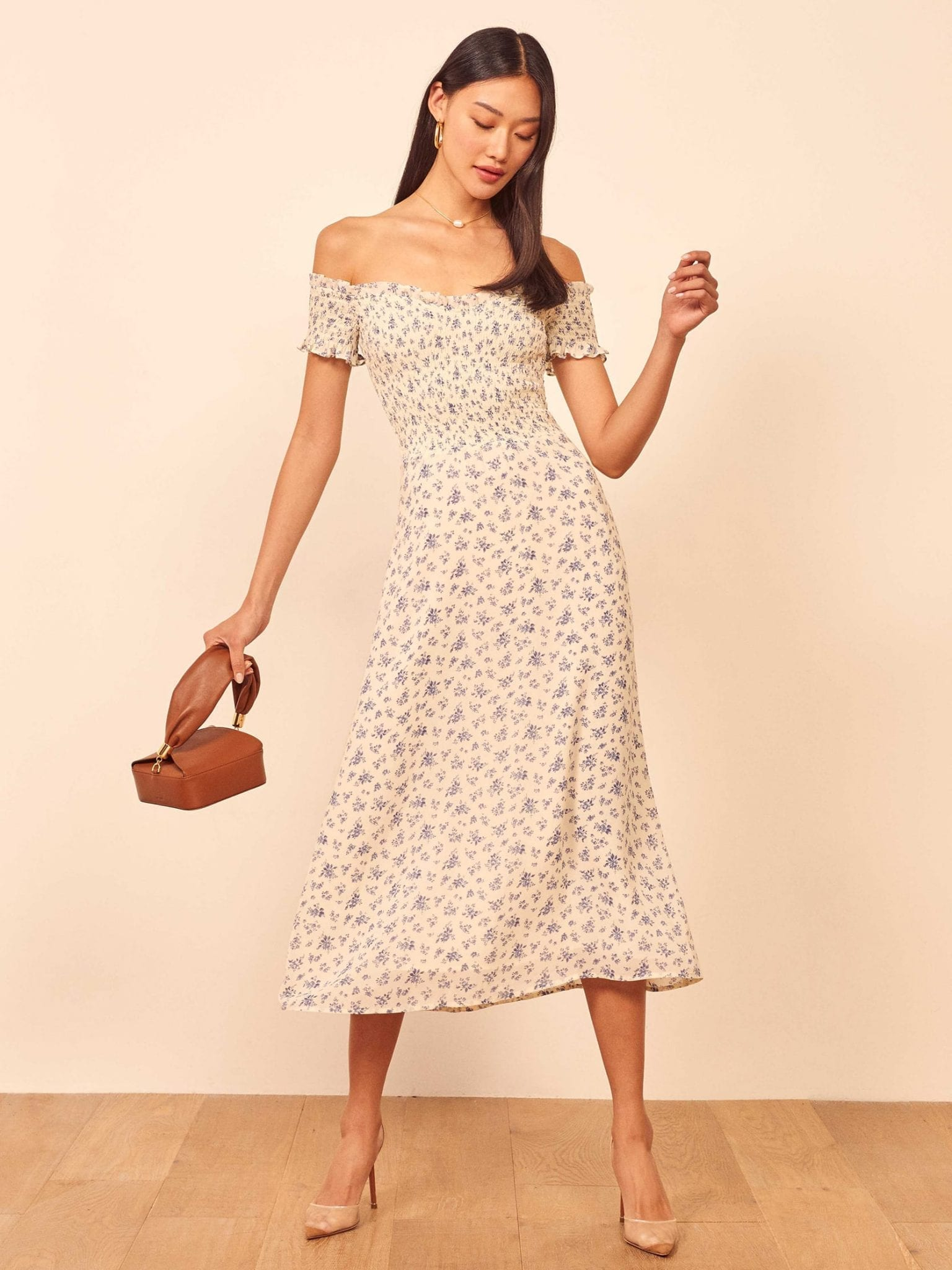 THEREFORMATION Murphy Dress