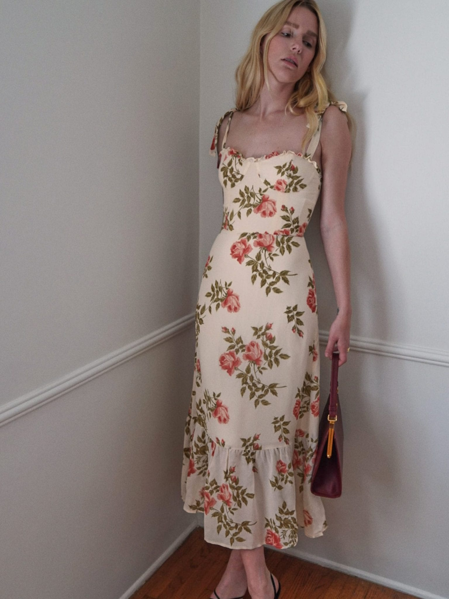THEREFORMATION Nikita Dress