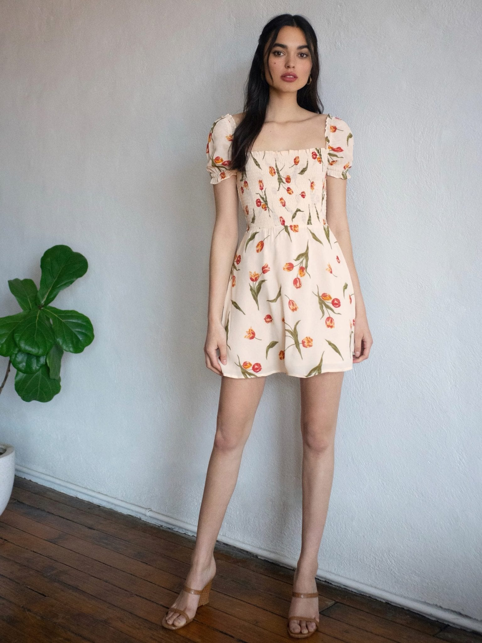THEREFORMATION Orangerie Dress