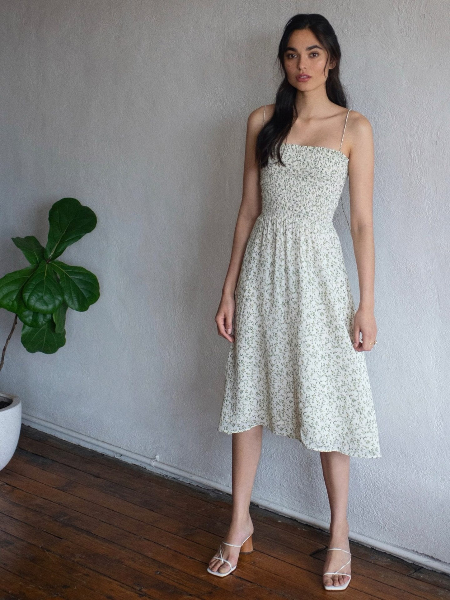 THEREFORMATION Sable Dress