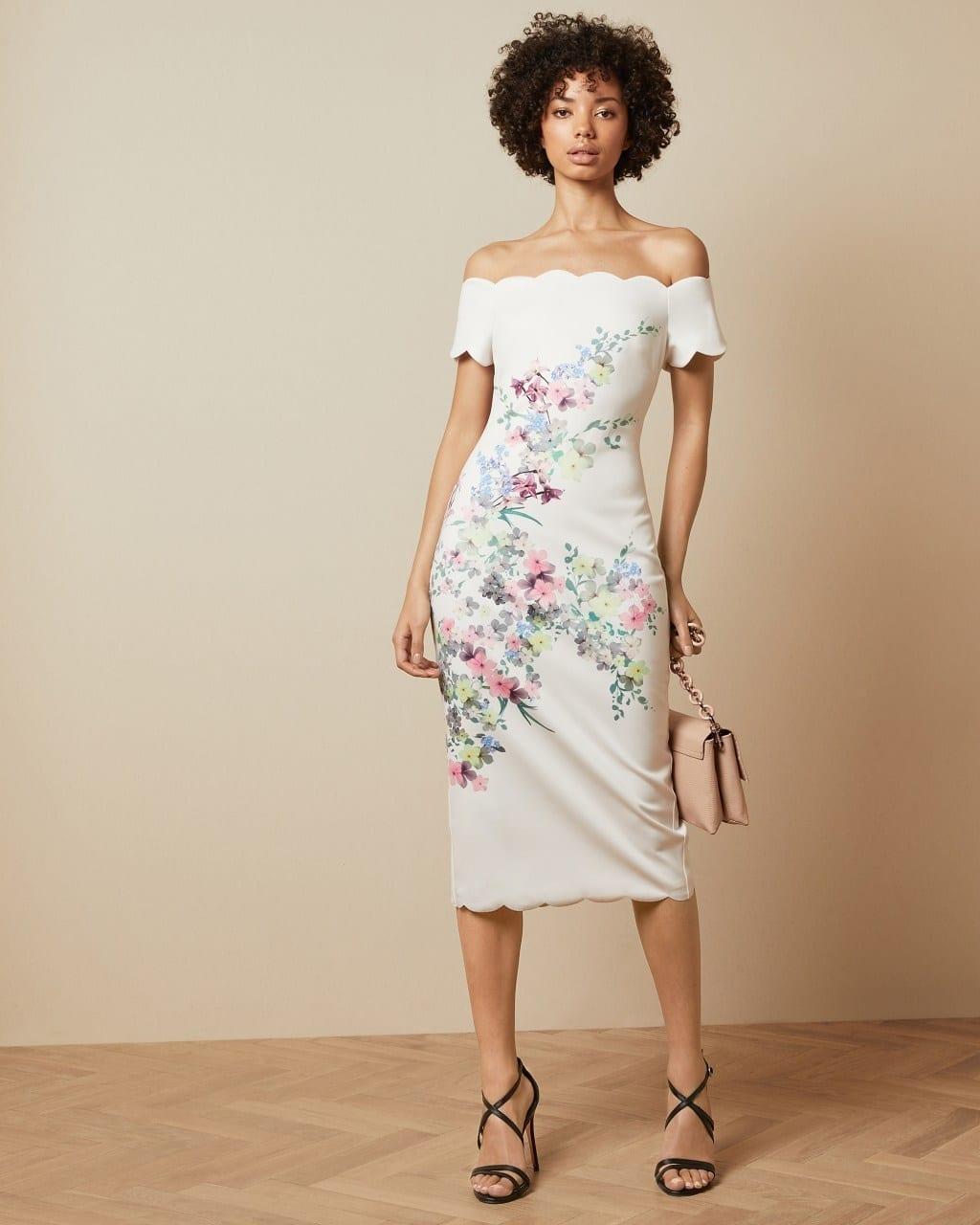 TRIXIIY Pergola Bardot Bodycon Dress