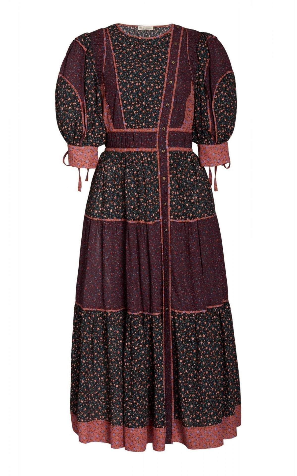 ULLA JOHNSON Verona Floral-Print Cotton-Blend Dress