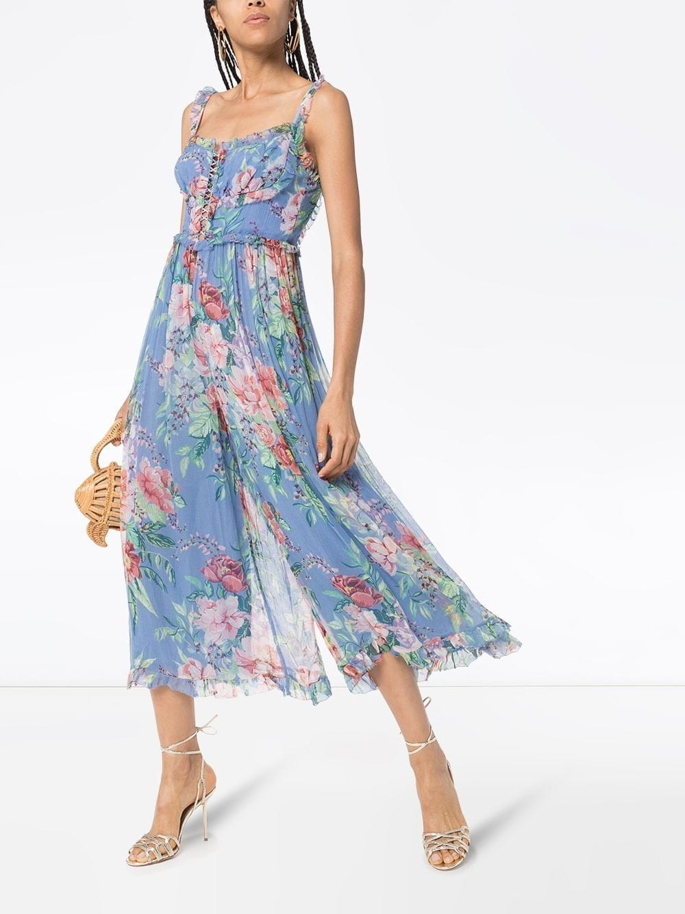 ZIMMERMANN Bellitude Corset-front Jumpsuit Dress