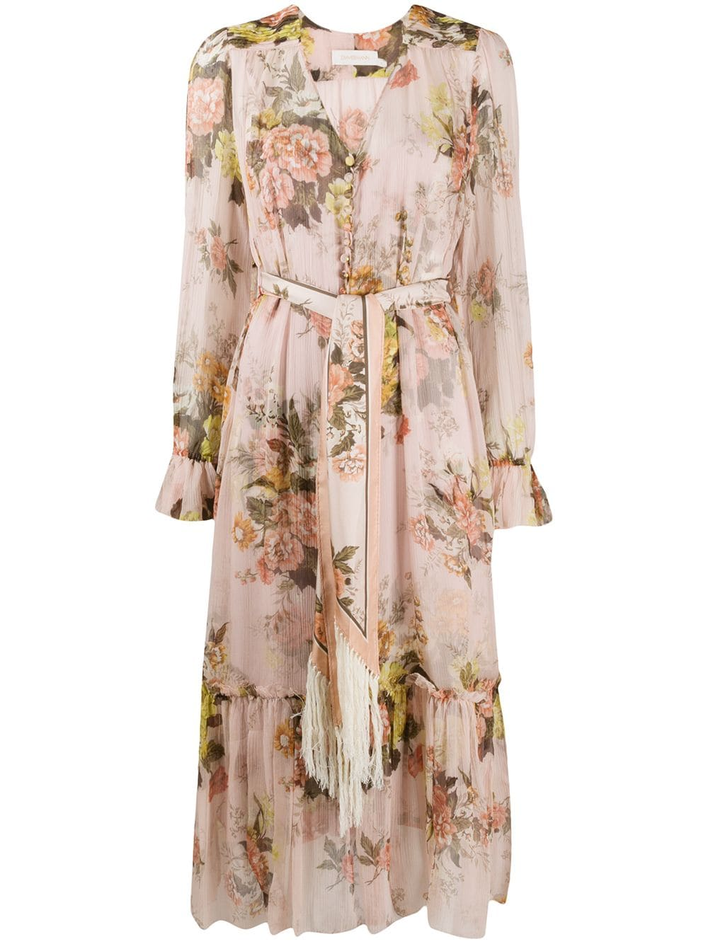 Zimmermann Brightside Floral Printed Dress We Select Dresses