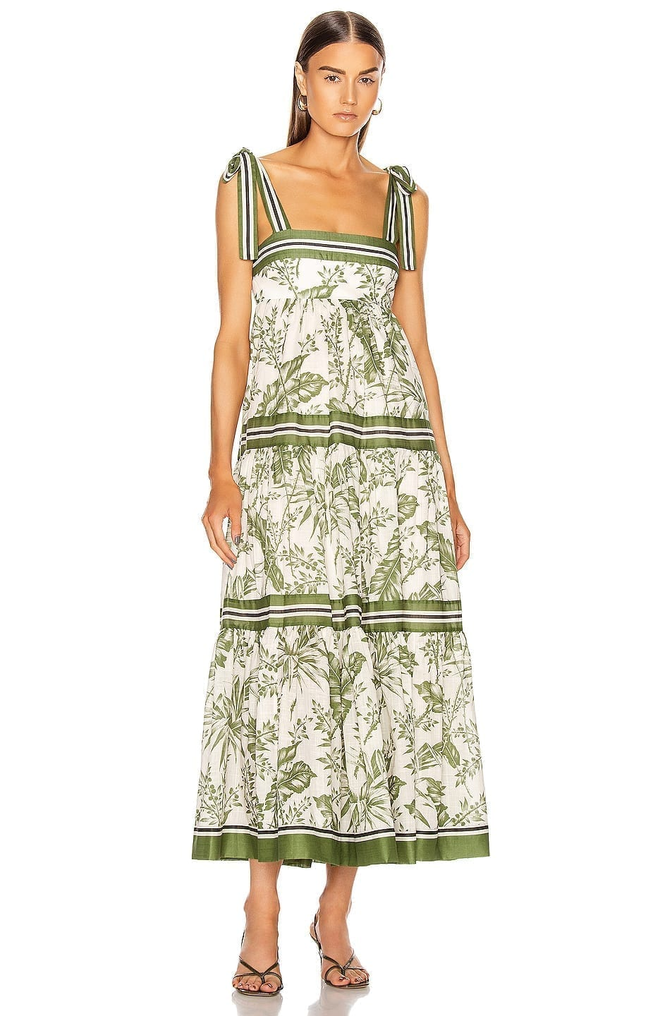 ZIMMERMANN Empire Shoulder Dress