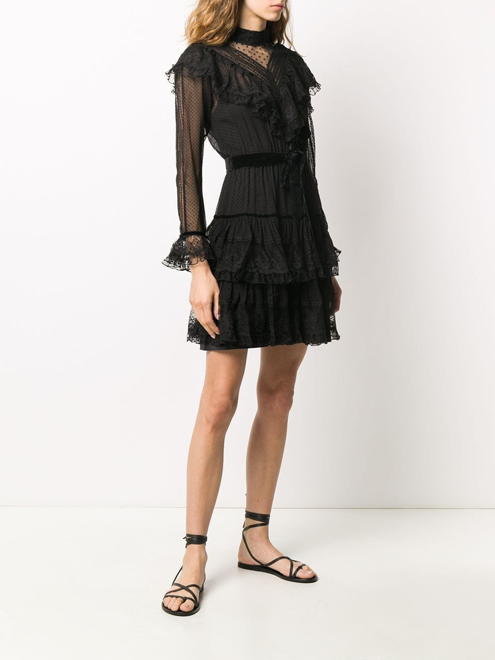ZIMMERMANN Ruffled Lace Dress