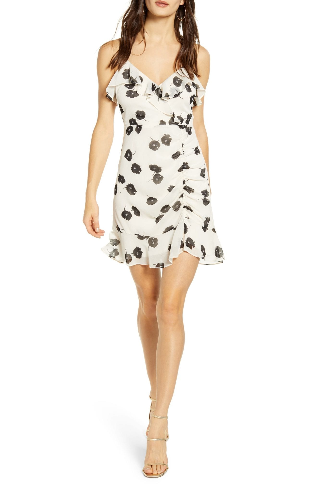 ALL IN FAVOR Callie Ruffle Mini dress