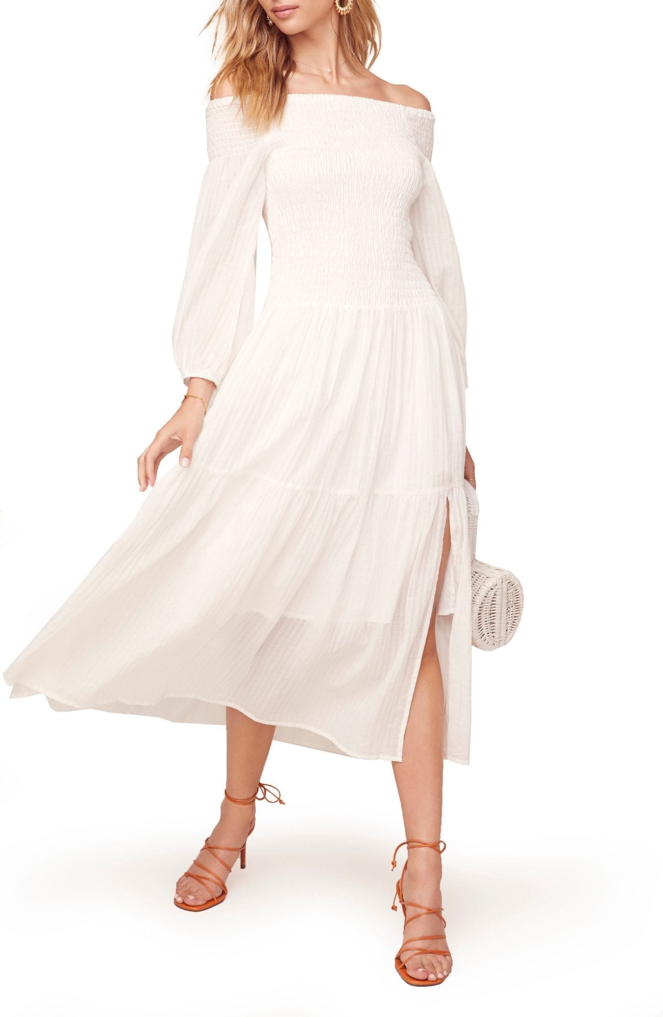 ASTR THE LABEL Utopia Off the Shoulder Dress
