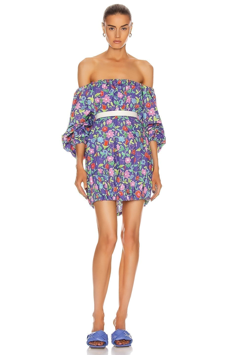 BERNADETTE Billy Cotton Poplin Dress