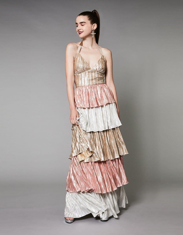 BETSEY JOHNSON Precious Metals Dress