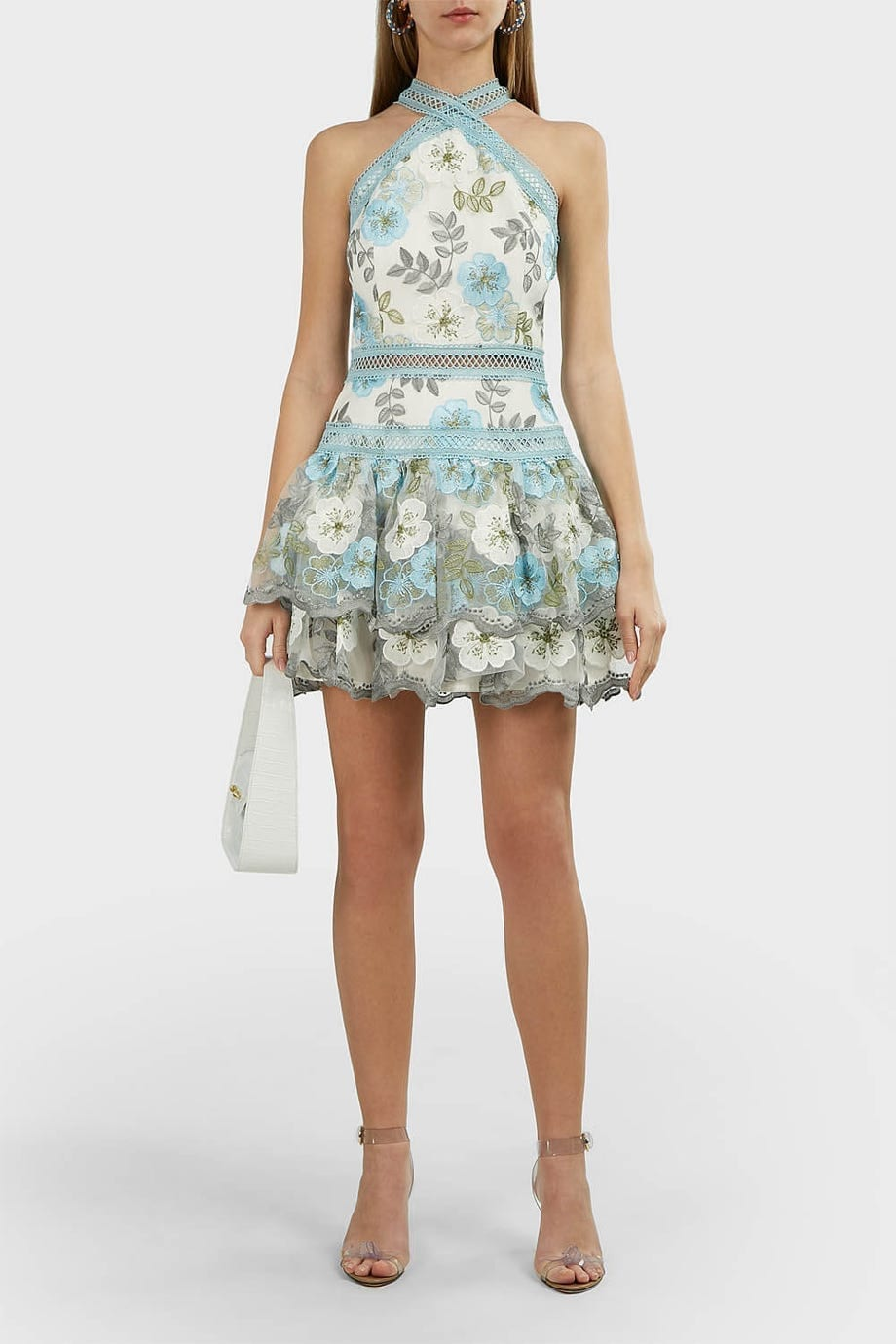 BRONX AND BANCO Penelope Floral Mini Dress