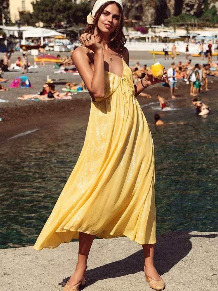 These Are The Most Beautiful Vacation Dresses For Your Bora Bora Getaway