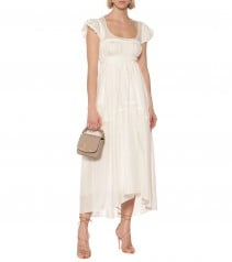 CHLOÉ Silk-Pongé Maxi Dress