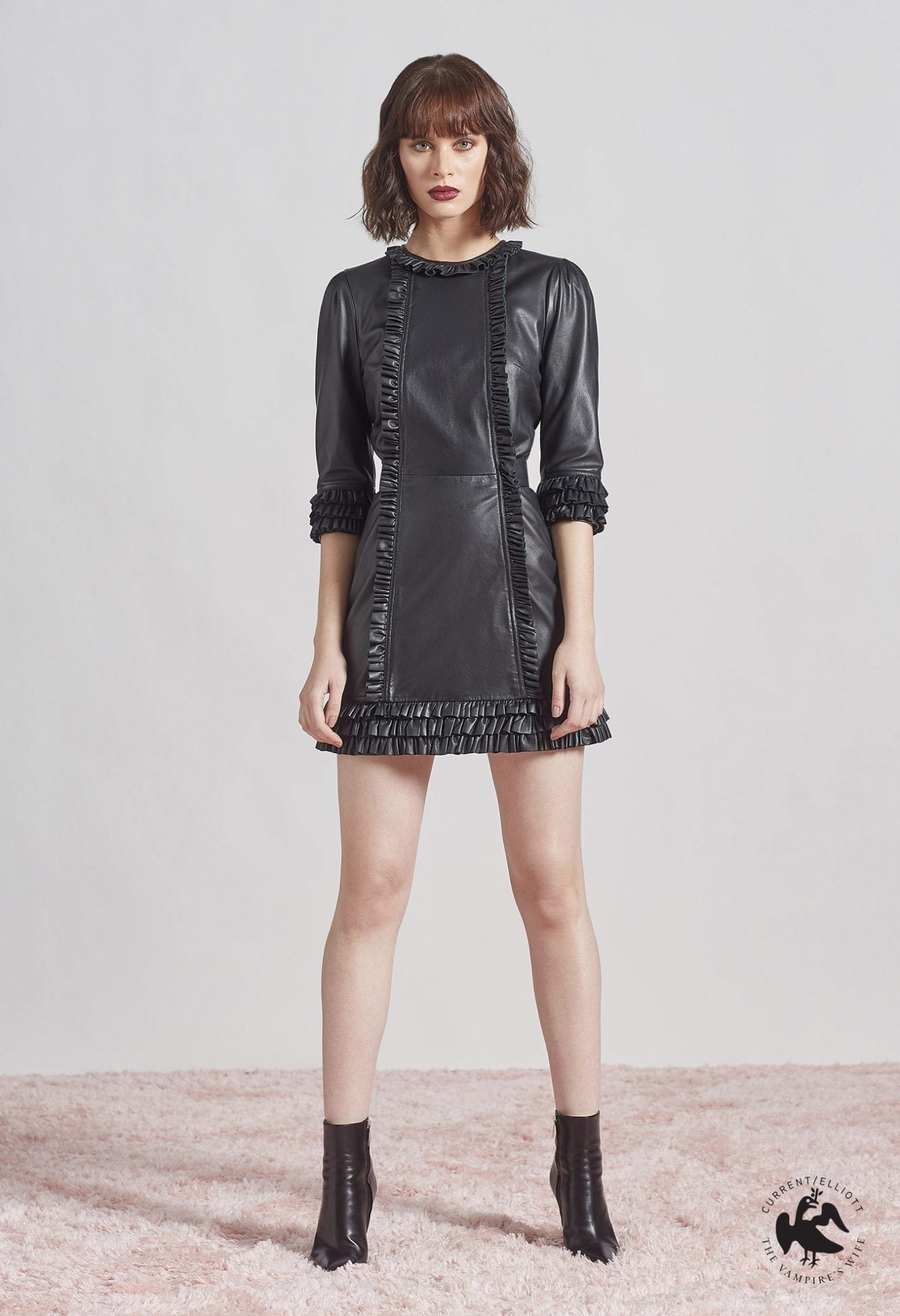 CURRENT ELLIOT The Kate Leather Dress