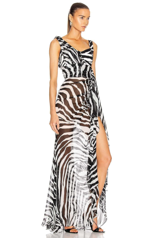 DOLCE & GABBANA Sleeveless Print Dress