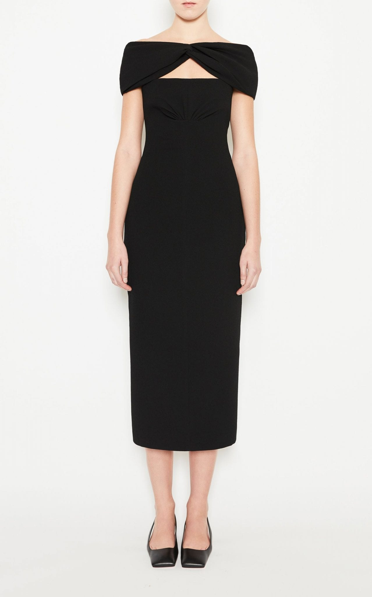 EMILIA WICKSTEAD Padma Cutout Cady Dress