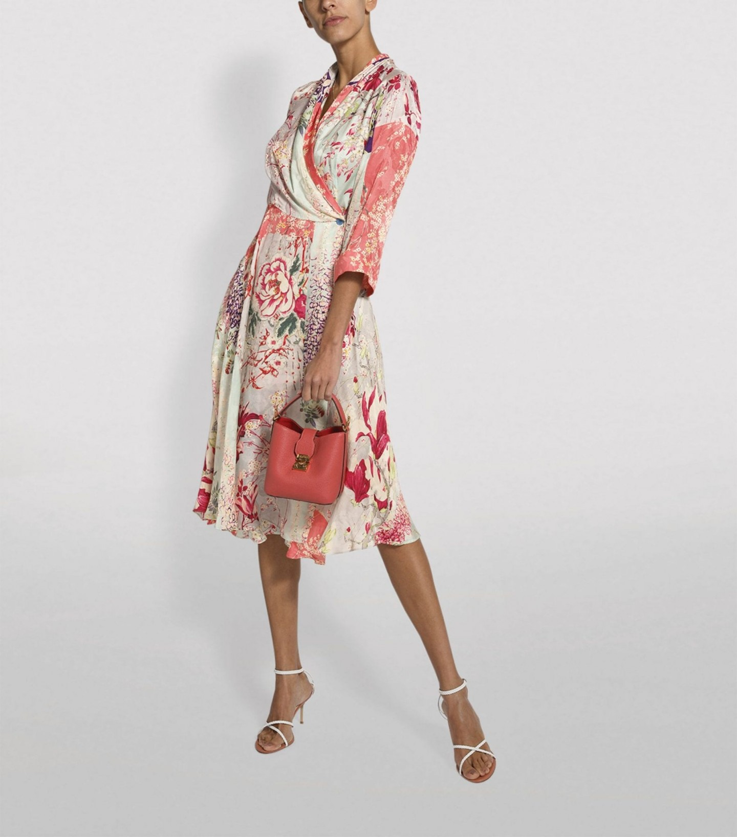 ETRO Floral Wrap Dress