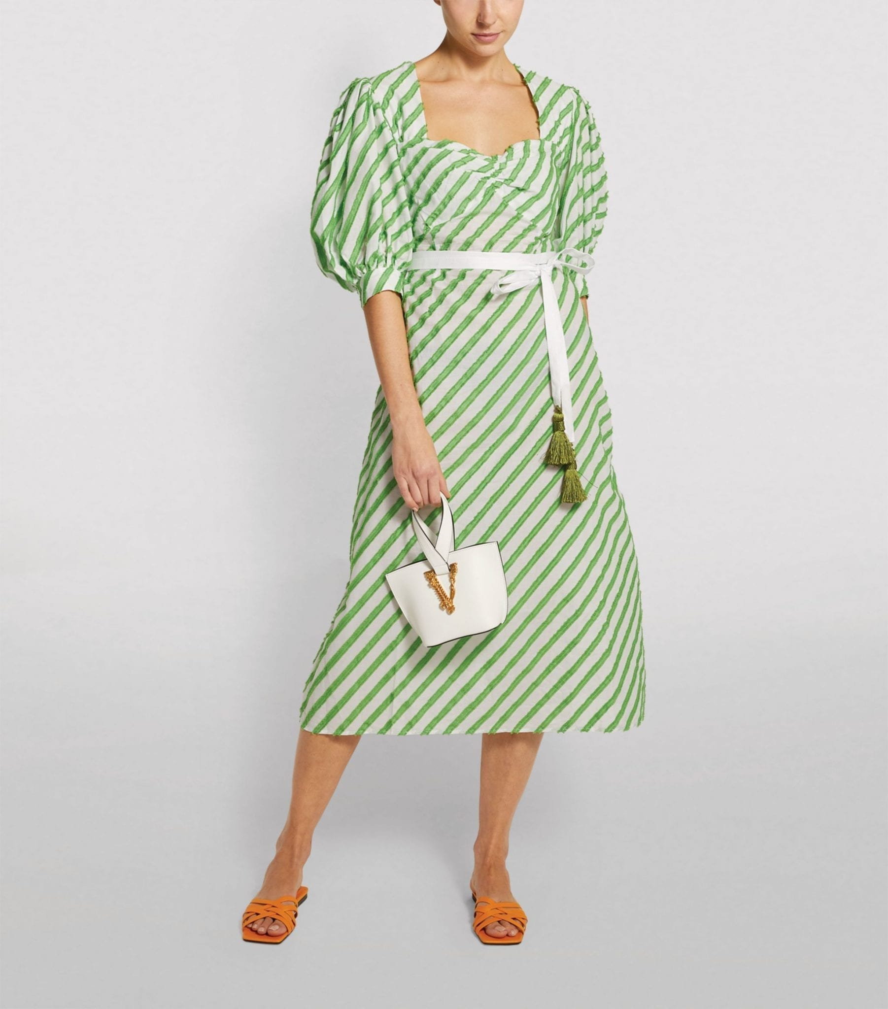 EVI GRINTELA Rabat Puff-Sleeve Dress