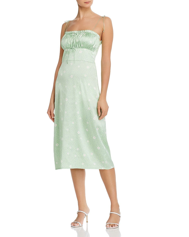 FOR LOVE & LEMONS Robin Printed Midi Dress