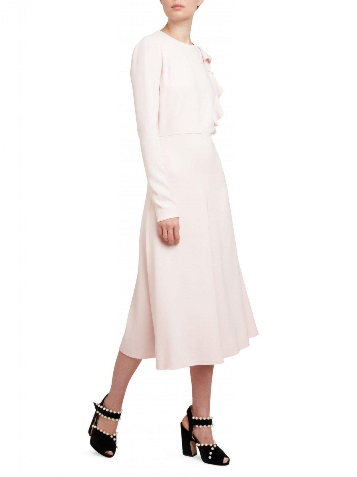 GIAMBATTISTA VALLI Ruffle Panel Midi Dress