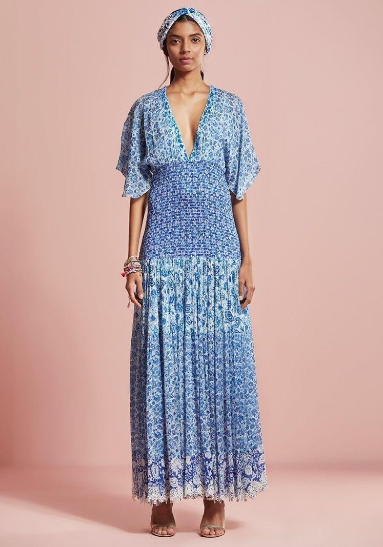 HEMANT & NANDITA Suho Maxi Dress