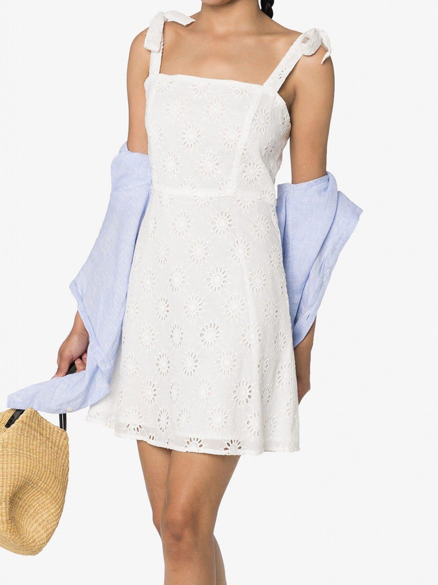 HONORINE Poppy Broderie Anglaise Mini Dress