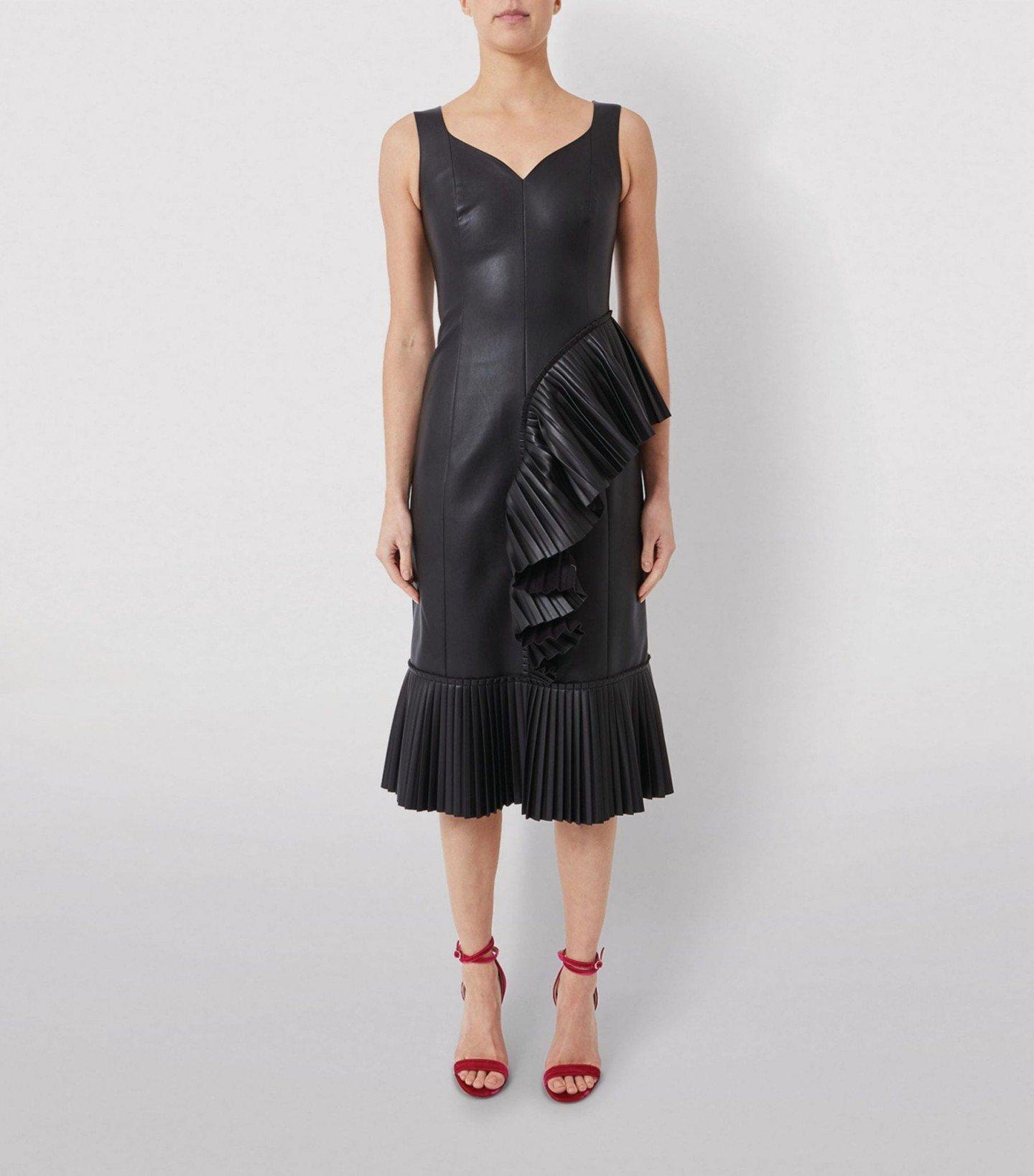 HUISHAN ZHANG Alanis Ruffled Dress