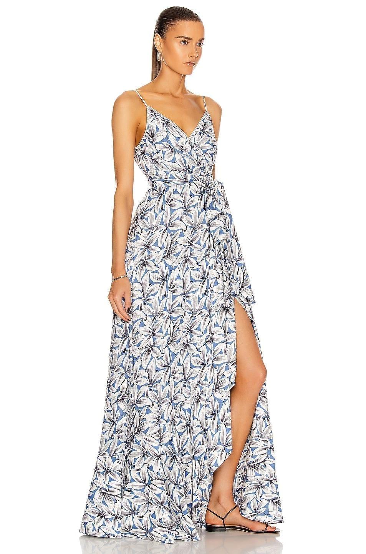 JONATHAN SIMKHAI Ava Wrap Gown