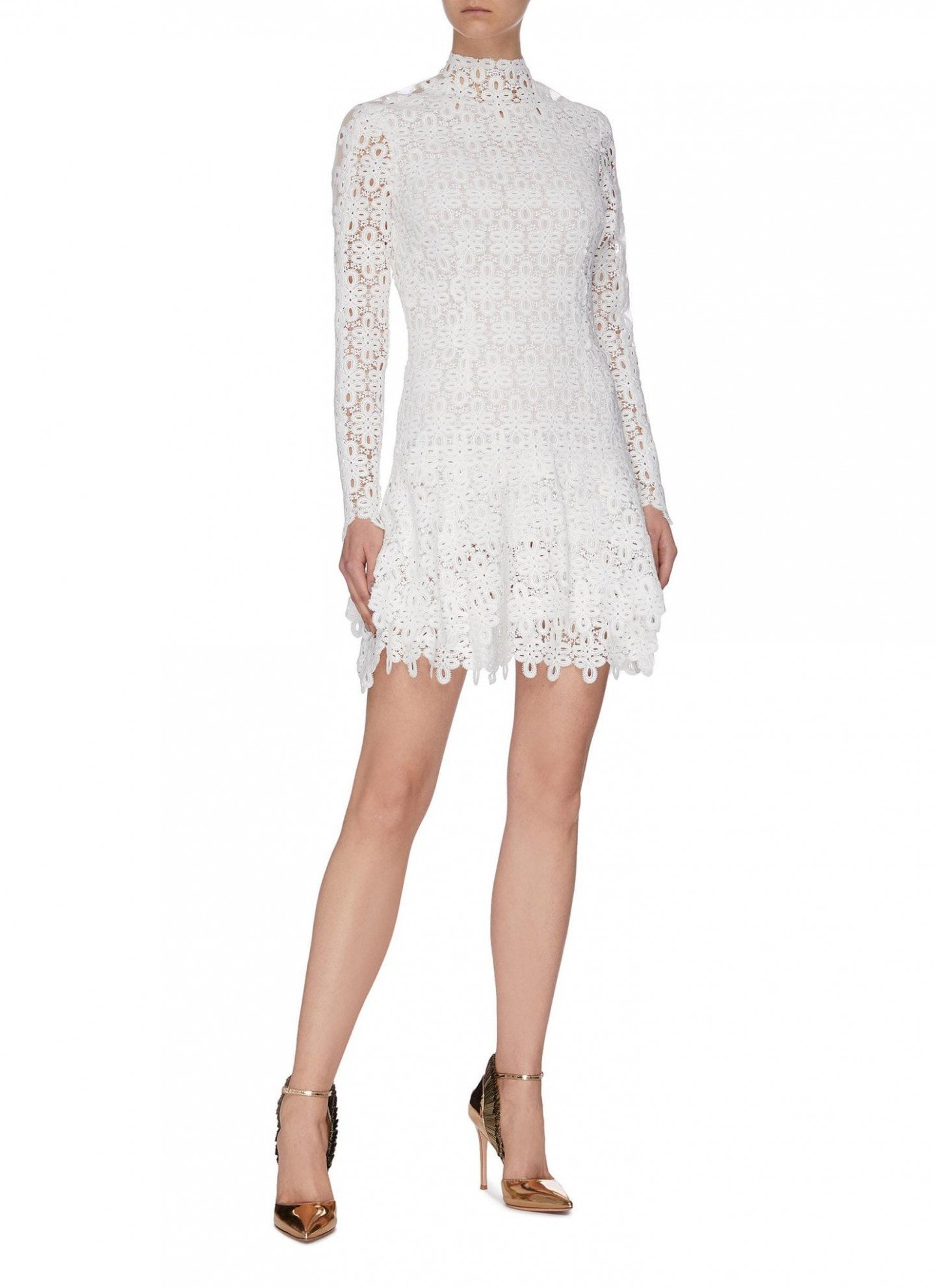 JONATHAN SIMKHAI 'Guipure' Lace Mini Dress
